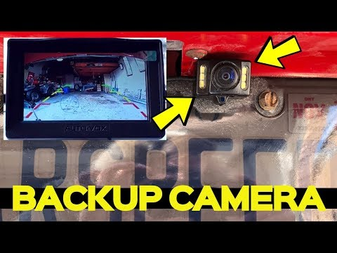 $100 DIY WIRELESS Backup Camera Install on a Dodge Charger – Auto-Vox M1W