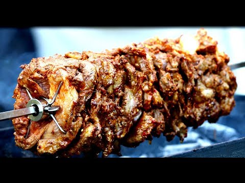 Gyros Recipe | Barbecue Recipe | How to make Gyros | Greek Gyro Rotisserie BBQ