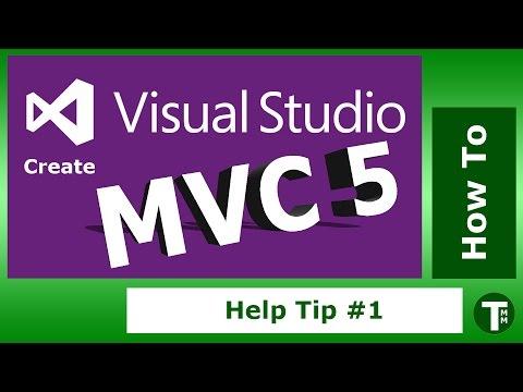 Visual Studio 2013 Tip 1 : How to create an MVC 5 application
