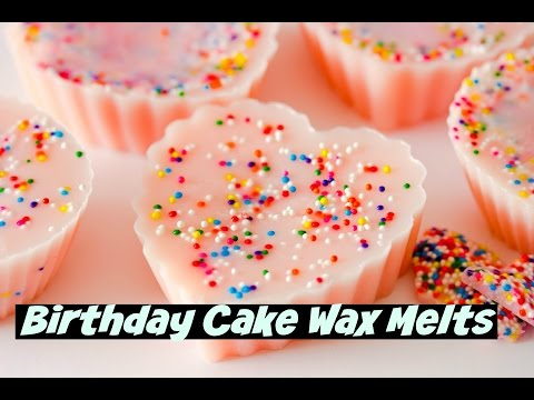 Making Birthday Cake Wax Melts (DIY Saturday Season 2 Episode 10) Birthday Cake Wax Melts DIY