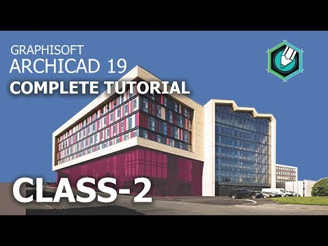 Archicad 19 complete tutorial | Class-2