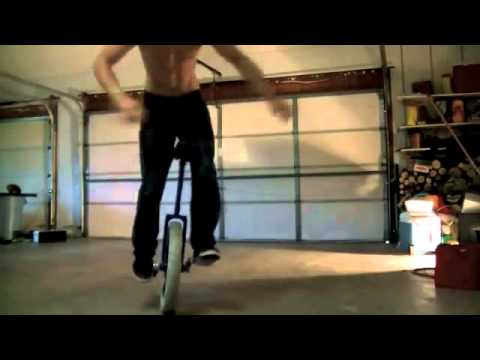 Big unicycle trick compilation
