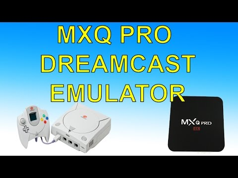 MXQ Pro Android TV Box DreamCast Emulator Test $30 Android TV Box Reicast