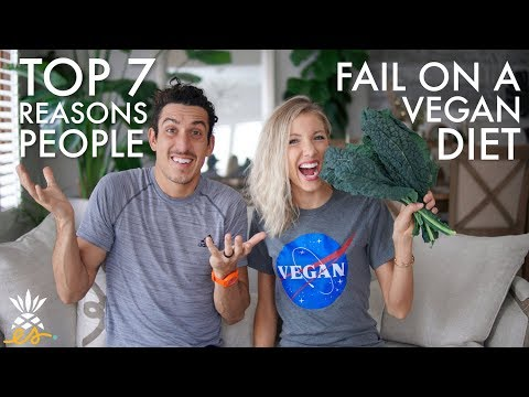 Top 7 Reasons People Fail on a Vegan Diet: Plant-based Pitfalls