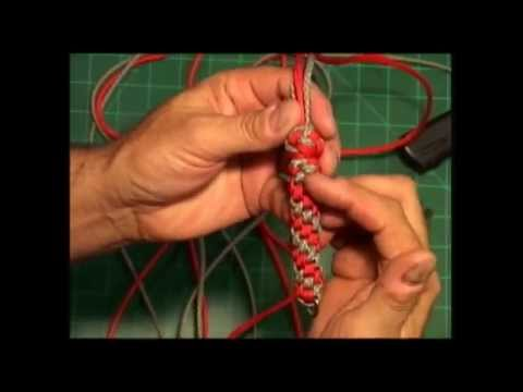 Paracord Weaver: How To - Multi-Knot Neck Lanyard - Part 2 - Transition