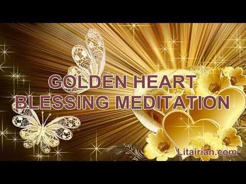 Golden Heart Blessing Meditation by Chanchal Panwar (Sai Meera)