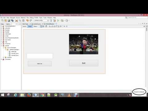 java tutorial | 06 creating exit button