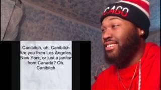 Canibitch- Eminem (w lyrics)  Canibus DISS - REACTION