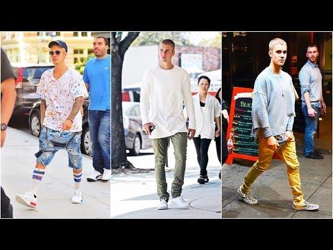 Justin Bieber Fashion Street Style (2016)