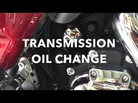 How To Harley Davidson Transmission Oil Change on Street Glide