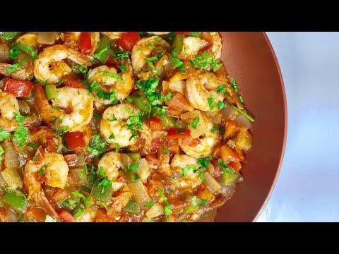 Easy Shrimp Sauce   Healthy Homemade Side Dish