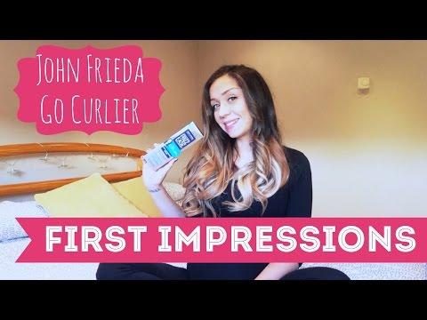 First Impressions ❤️ John Frieda Go Curlier (Big Loose Curls)