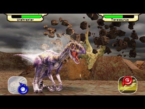 Dinosaur King Arcade Game 恐竜キング - Utahraptor VS Operation-Dinosaur Rescue
