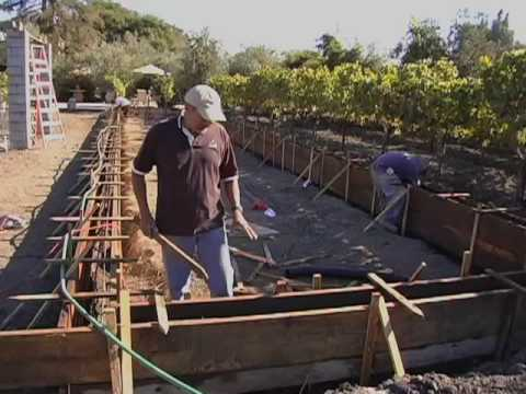 Learn How to Build a Bocce Ball Court with Pedro Ceja at Ceja Vineyards in Carneros