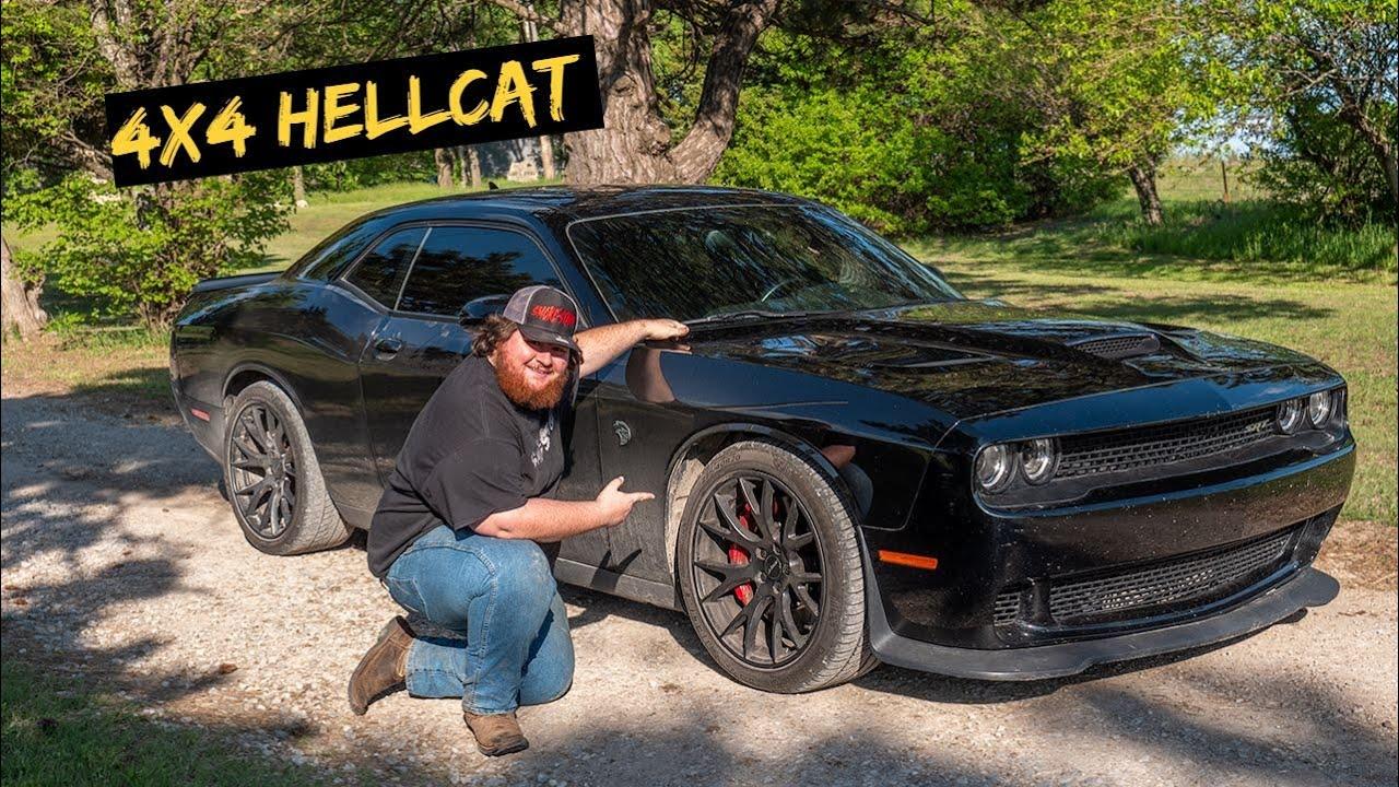 We Made Progress on 4x4 Off-Road Hellcat