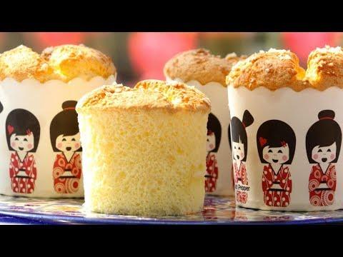 How To Make Jiggly Fluffy Cheese Cake | Cotton Soft Sponge Cake | Castella Cake Recipe