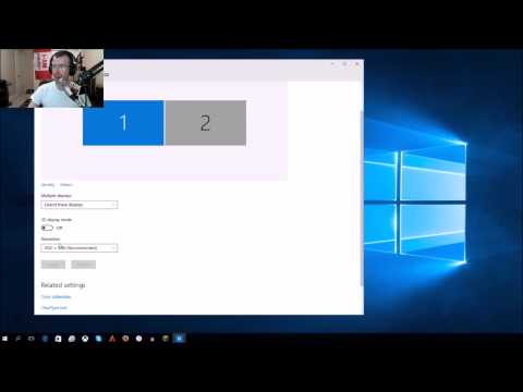 How to change your screen resolution and refresh rate in windows 10
