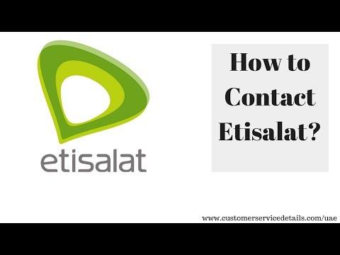 Etisalat Customer Care Number, Head Office Address, Email ID, Website