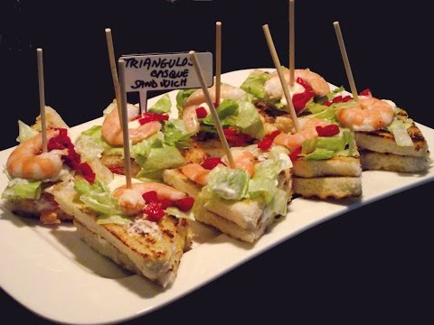Basque Pintxos and tapas: The best vegetable triangle