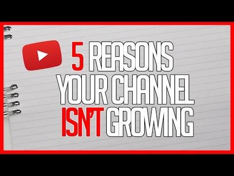 5 Reasons Your YouTube Channel Isn't Performing Well