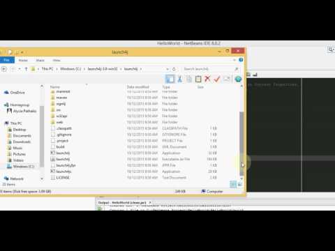 Launch4j  - Creating exe files for Java apps