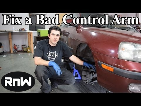 How to Remove and Replace a Control Arm - Due to Bad Bushings