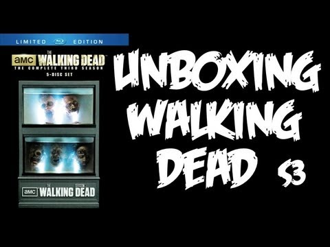 Unboxing The Walking Dead Fish Tank Box Set