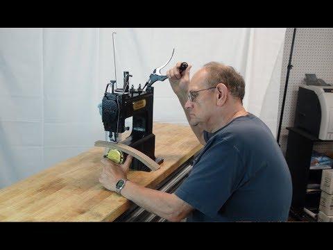 Máquina de coser cuero barata