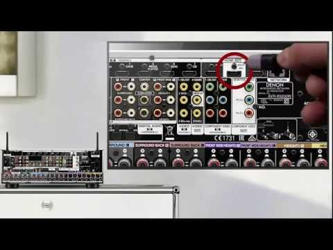 How to get TV Audio via your Denon AV Receiver with an (ARC) connection
