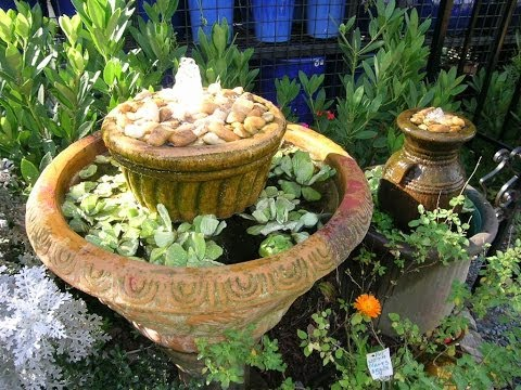Make Your Own Water Feature, No Mas! Style!