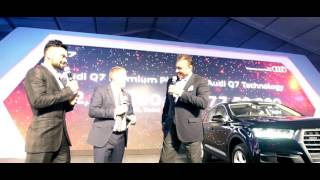 The Launch of the all new Audi Q7 Model Car