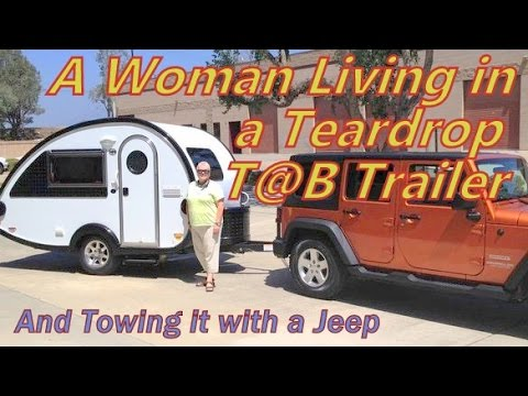 Living in a T@BT Trailer & Towing it with a Jeep