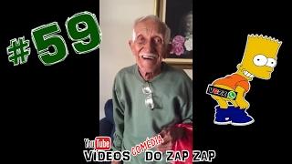 Vídeos Comédia do Zap Zap #59 Comer Bem, Dormir Bem e Muito Sexo !!!
