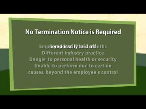 8-2: When an Employee Terminates Employment