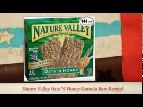 Nature Valley Granola Bars Recipe | How to make Nature Valley Granola Bars?