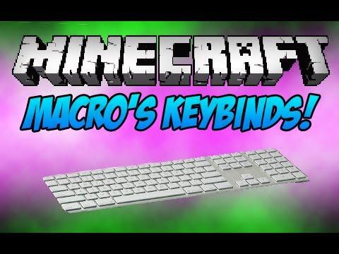 Minecraft: Macro's Keybinds! (Monday Mod Review)