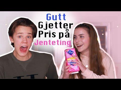 Gutt gjetter pris på jenteprodukter! alt fra tamponger til sminke ft. Magnus Nordlund