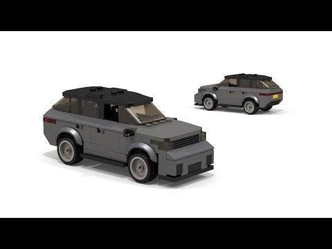LEGO Range Rover Velar Building Instructions
