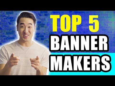 Top 5 Youtube Banner Makers!
