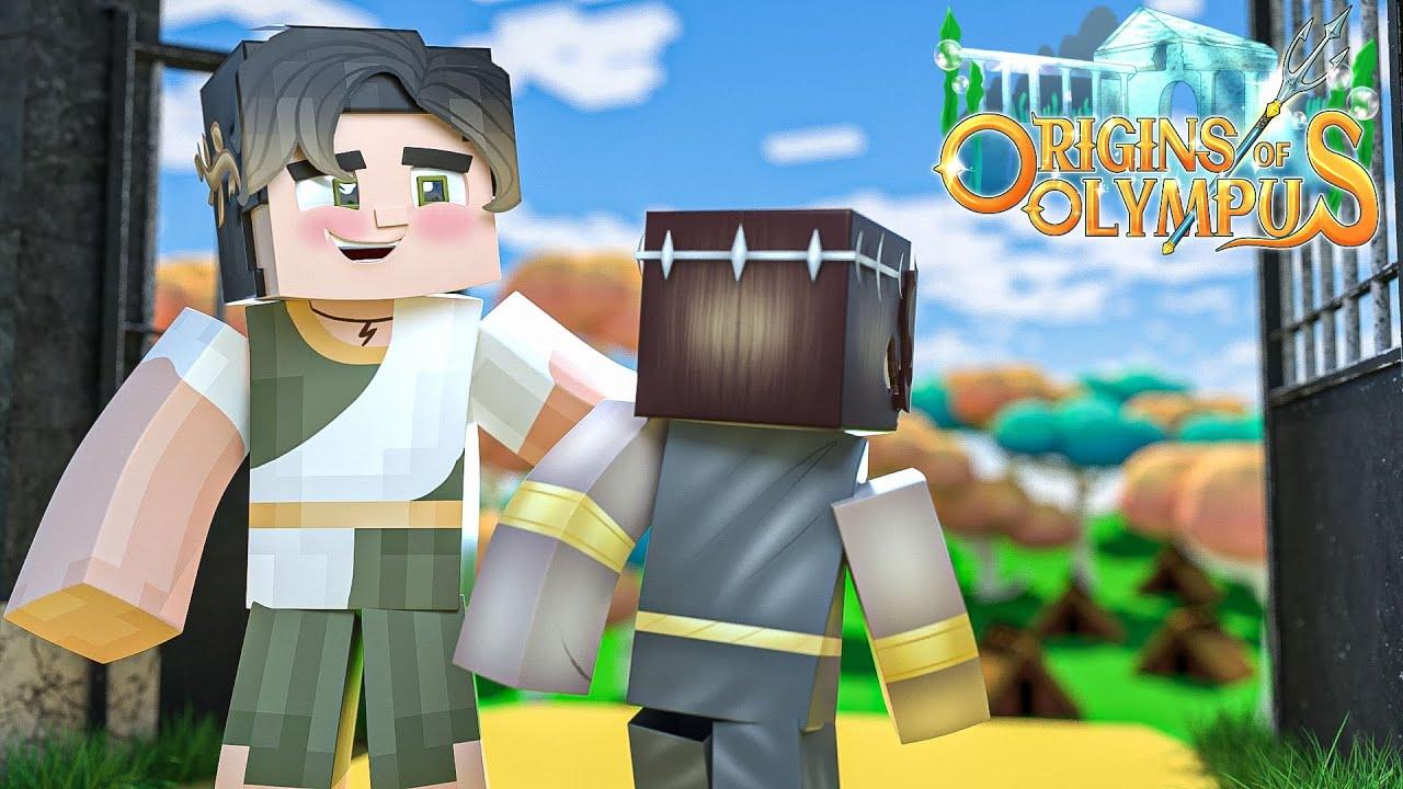 The Child Of Destiny  -Origins Of Olympus!- (Minecraft Olympus Roleplay)
