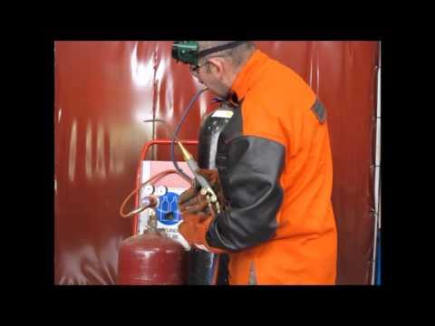 Oxy Acetylene Setup Ytube