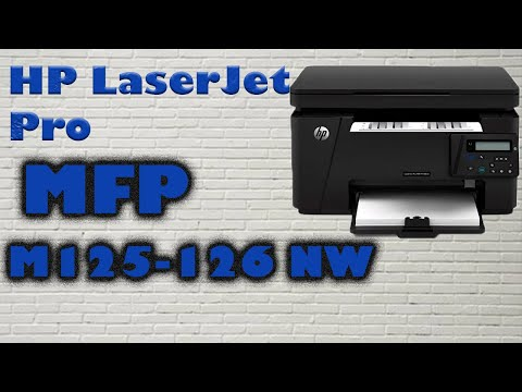How To install HP Laser jet pro MFP M125-126  printer on a wireless network in Laptop/computer