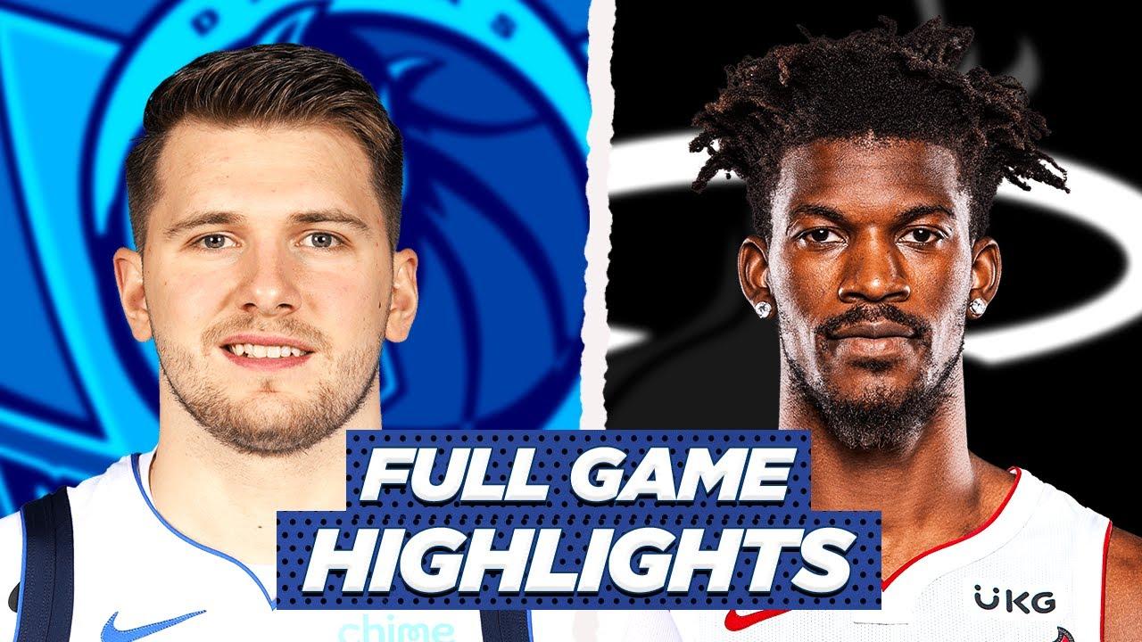HEAT vs MAVERICKS FULL GAME HIGHLIGHTS   2021 NBA SEASON