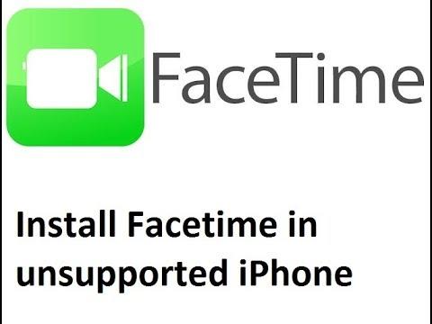 How to install Facetime in unsupported iPhones   تثبيت الفيس تايم للايفون بدون جلبريك للاجهزة