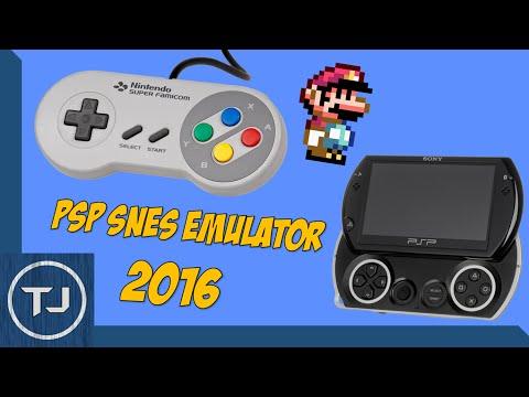 PSP/PSP GO - Super Nintendo SNES Emulator Download 2017!