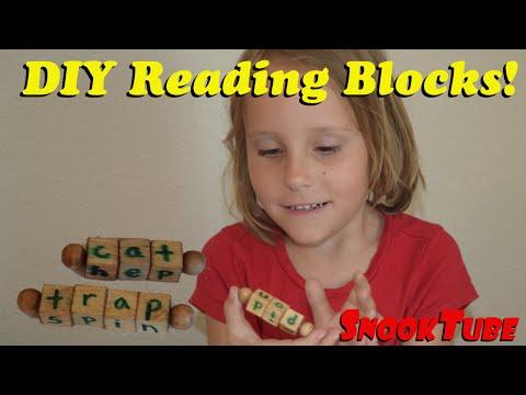 DIY reading blocks