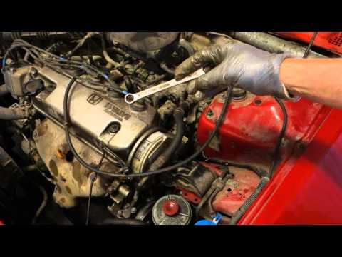 How to replace water pump Honda Civic. Years 1992 to 2002