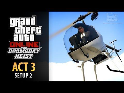 GTA Online: Doomsday Heist Act #3 - Setup: Escort ULP (Elite & Mastermind II)