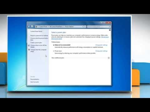 How to avoid password request after sleep in Windows® 7 PC