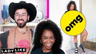 Freddie Gets A Vintage Fashion Makeover From Curly • Ladylike